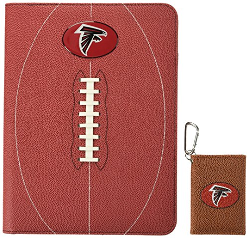 GameWear NFL Atlanta Falcons Classic Football Portfolio & ID Holder Gift Pack, One Size, Brown ()