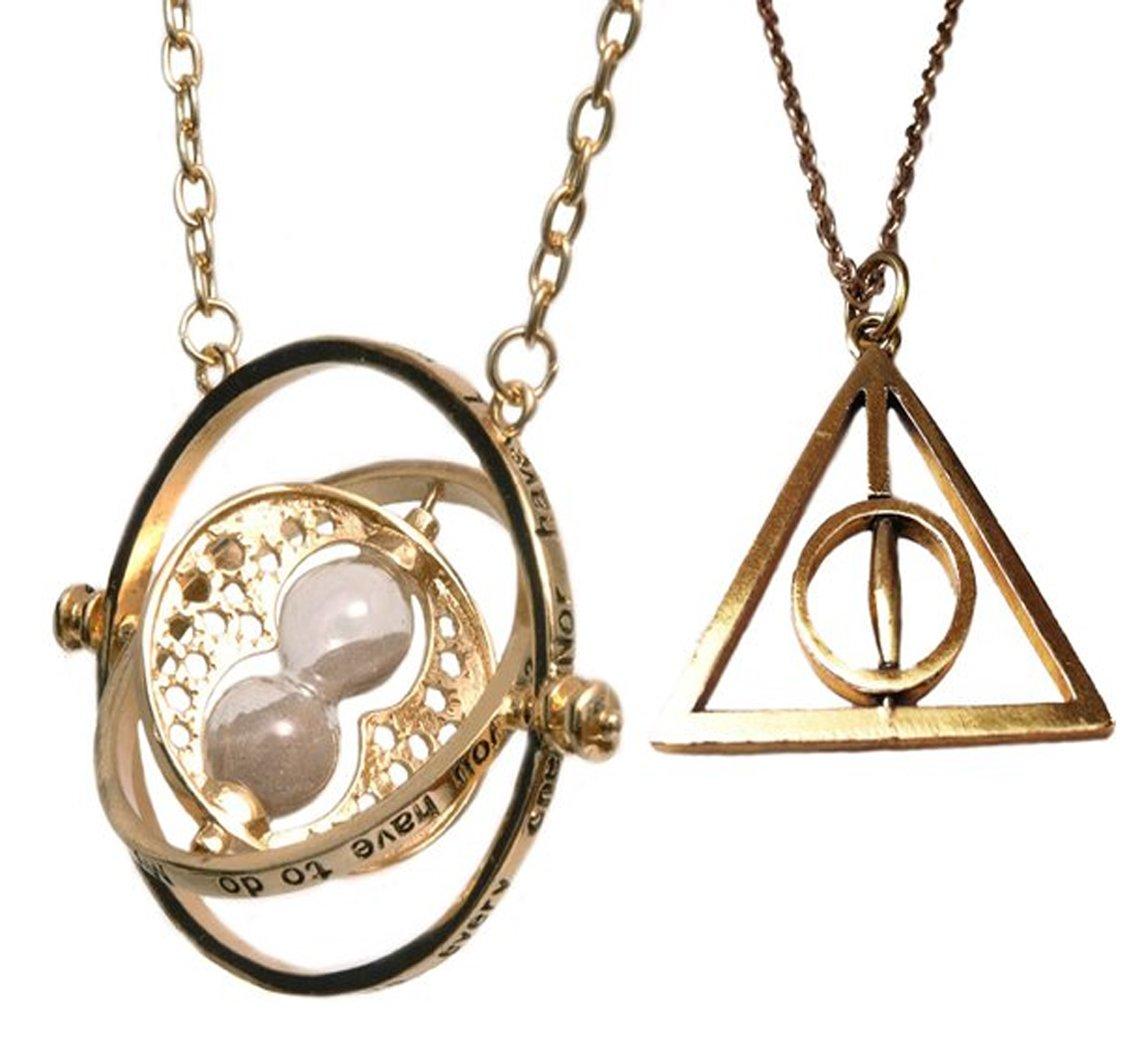Harry Potter Heiligtümer des Todes und Zeitumkehrer Kette