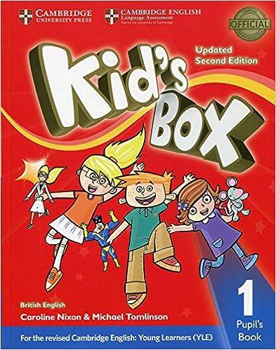 Amazon com: Kid's Box Level 1 Pupil's Book British English