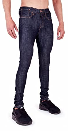 c3e9f32f Mens Spray On Skin Tight Skinny Stretch Denim Jeans at Amazon Men's ...