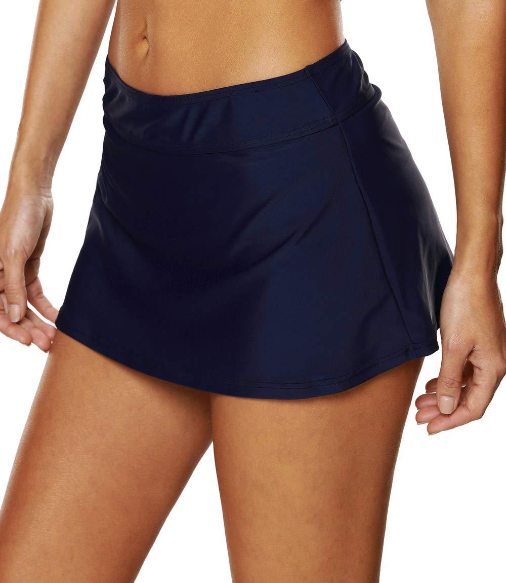 8f2bd9b4de V FOR CITY Swimsuit Skirt Bottoms for Women Solid Swim Shorts Beach  Boardshorts 16