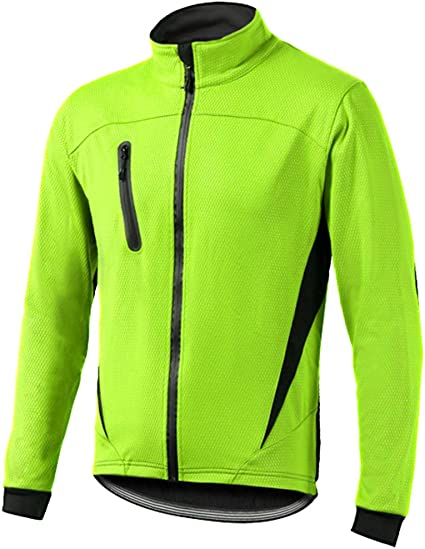 Mens Cycling Jersey Mountain Bike Jacket Windproof Breathable Coat Light Tops