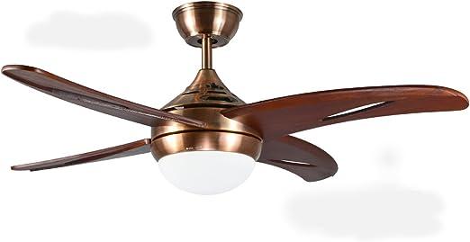 El ventilador de techo, lámpara, lámpara de mano de 42 pulgadas ...