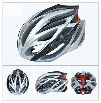 Casco de bicicleta deportivo de seguridad ultraligero Casco de bicicleta de carretera Bicicleta de montaña MTB