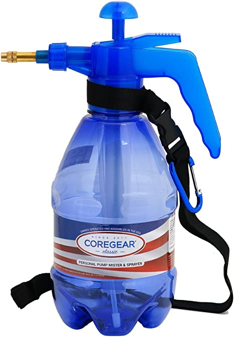 Classic USA Misters 1.5 Liter Personal Water Mister Pump Spray Bottle