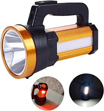 Lamp Work Light Torch Hand Searchlight Flashlight Rechargeable Camping Light