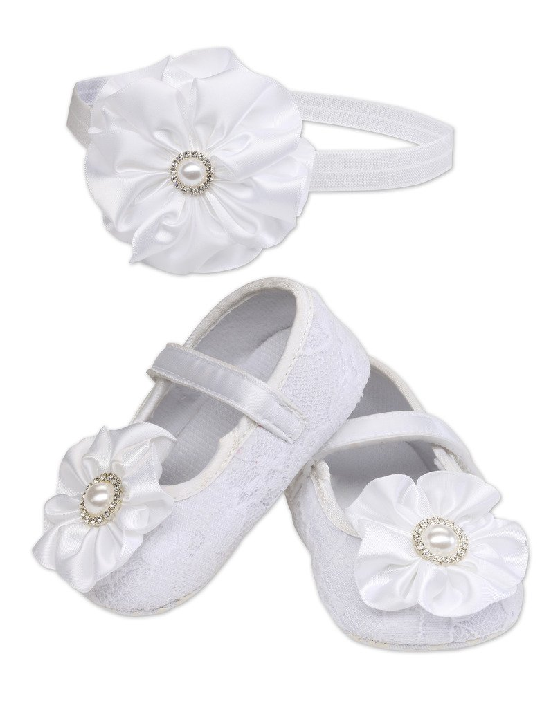 Newborn Dreamcatcher inspired Simple Sweet White Baby Headband  Shabby Chic Baby 1st Photo Shoots Baptism Dedication Baptism White Rose