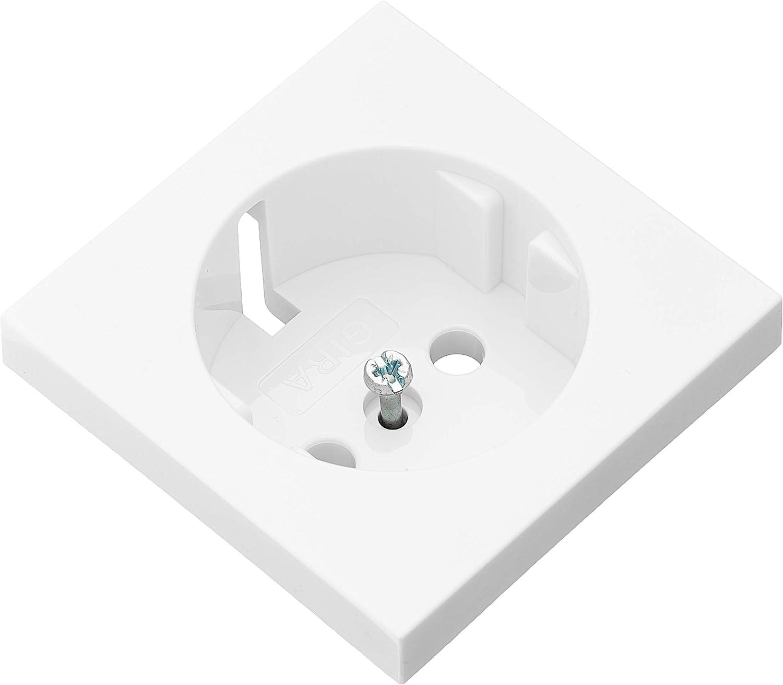 GIRA Dimmerknopf System 55 reinweiß Schalter Knopf Abdeckung//Bedienelement