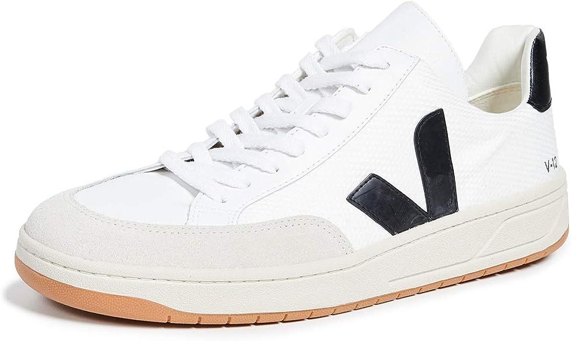 Veja Herren Sneaker V 12 Weiss (10) 40: : Schuhe