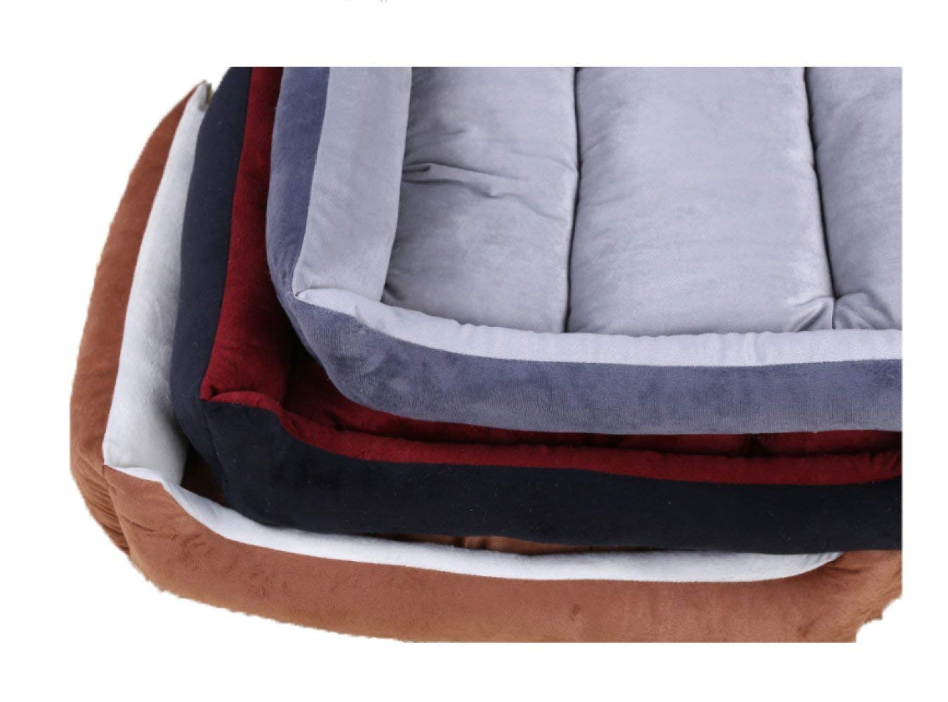 Pet Bed The Four Seasons Available Kennel Cat Litter The Washable Solid color Pet Mat,Multi-colord-90  70  12cm