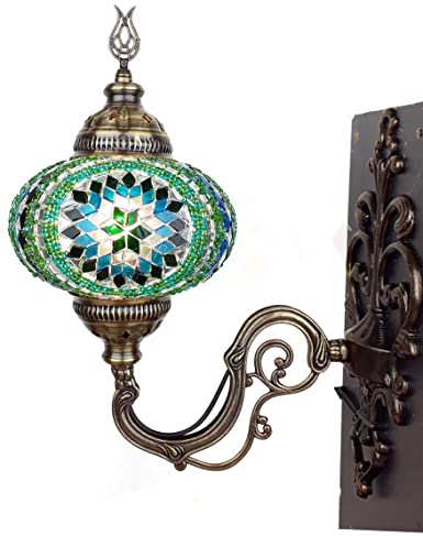 Terrific 25 Colors Demmex 2019 Turkish Moroccan Plug In Mosaic Wall Sconce Wiring Digital Resources Antuskbiperorg
