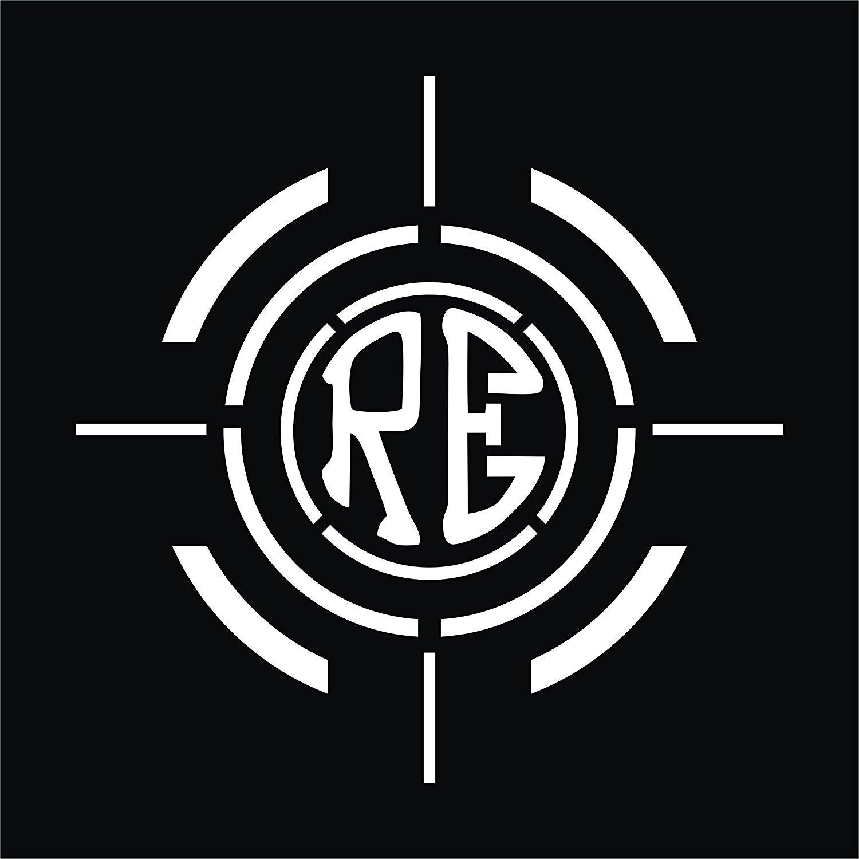 Cvanu re logo royal enfield bullet sticker classic 350 bikechaiserearsidesbumper sportive sticker cb53white amazon in car motorbike