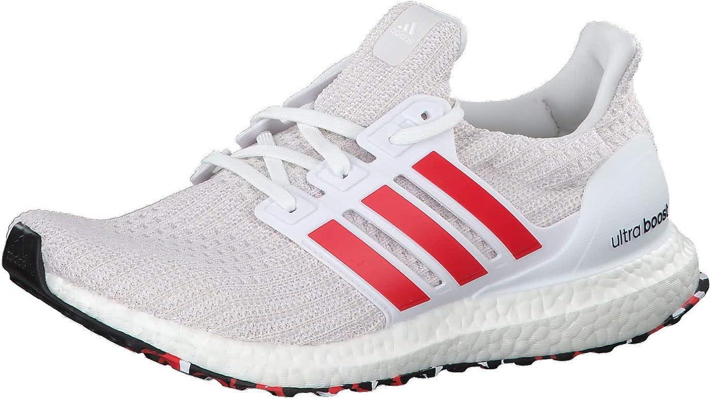 Adidas Ultraboost, Zapatillas de Running para Hombre, Blanco (FTWR White/Active Red/Chalk White FTWR White/Active Red/Chalk White), 42 EU: Amazon.es: Zapatos y complementos