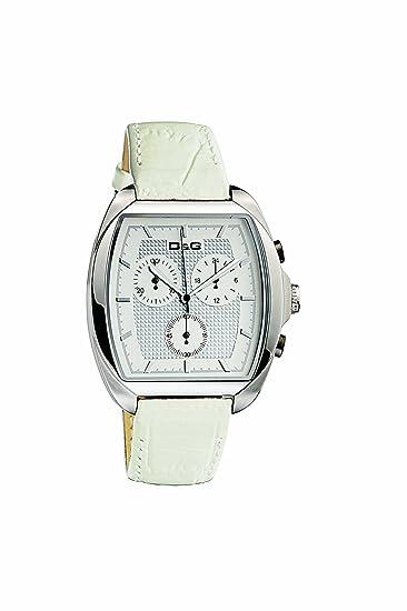 D&G Dolce&Gabbana D&G Martin - Reloj analógico de mujer de cuarzo con correa de ...