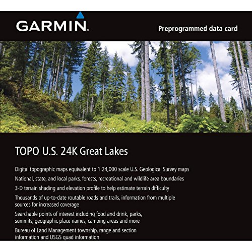 Garmin Wisconsin Michigan Illinois Indiana