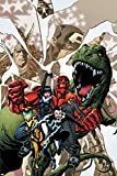 reptil marvel - Avengers Academy No.12 Cover: Striker, Veil, Hazmat, Finesse, Mettle, and Reptil Poster by Mike McKone 24 x 36in