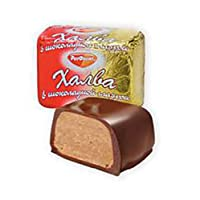 """Imported Russian Chocolate-Glazed Halva """"Rot Front"""""""