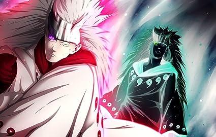 Amazon Com Xxw Artwork Naruto Uchiha Madara Poster Uzumaki