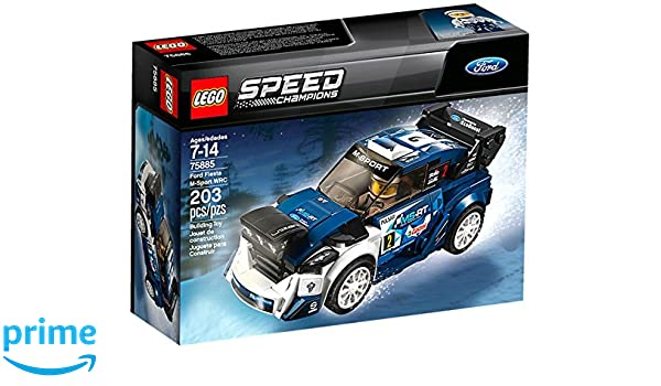 Amazon.com: LEGO 75885 Speed Champions Ford Fiesta M-Sport WRC ...