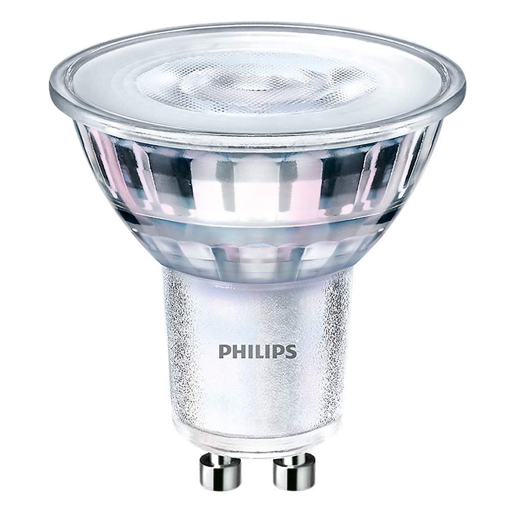 Philips corePro LEDSpot 4.6W GU10à + Warm White LED Bulb–LED Bulbs (Warm White, Silver, Translucent, a +, 50/60, 39mais, 220–240) 39mais 220-240) 75251700