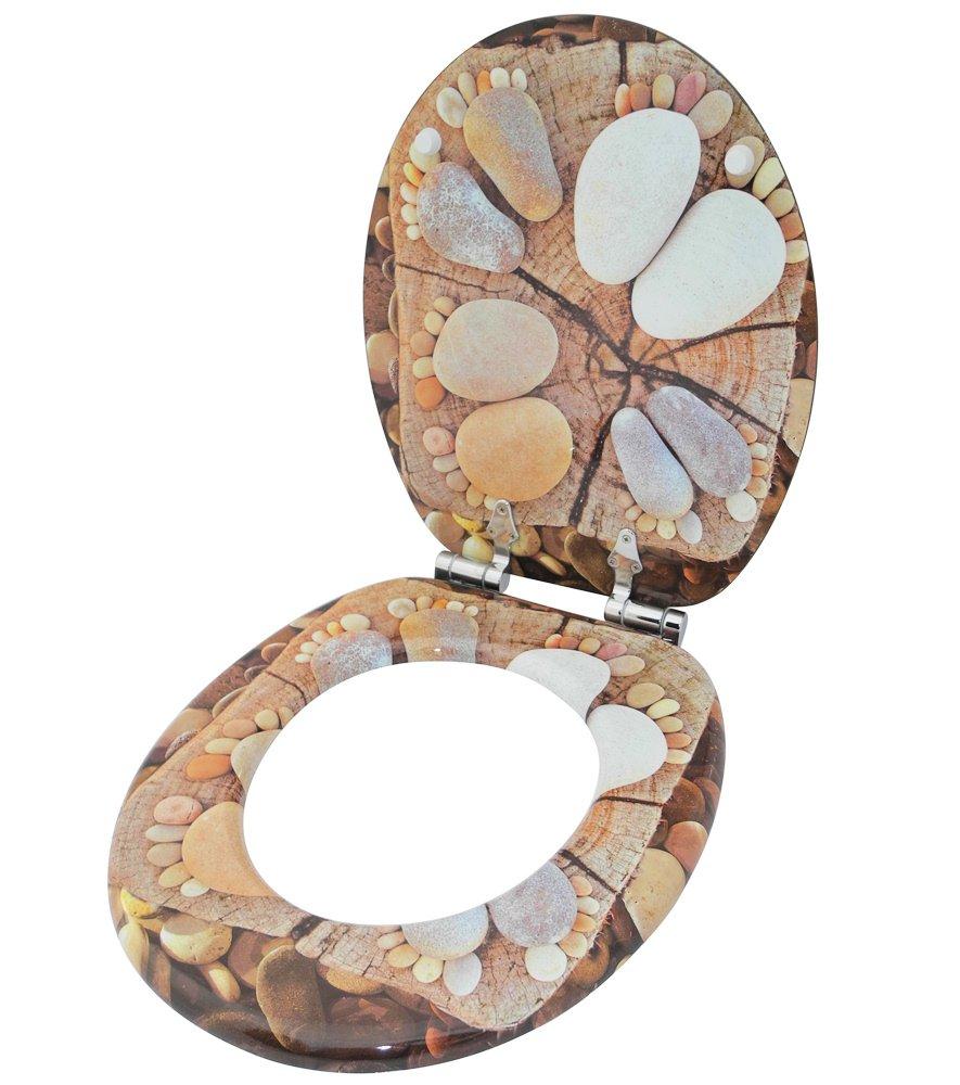 Sedile WC grande scelta di belli sedili WC da legno robusto e di alta qualit/à Marittimo