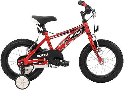 BH PONY-Bicicleta para niño 14 pulgadas 1s de 2016: Amazon.es ...