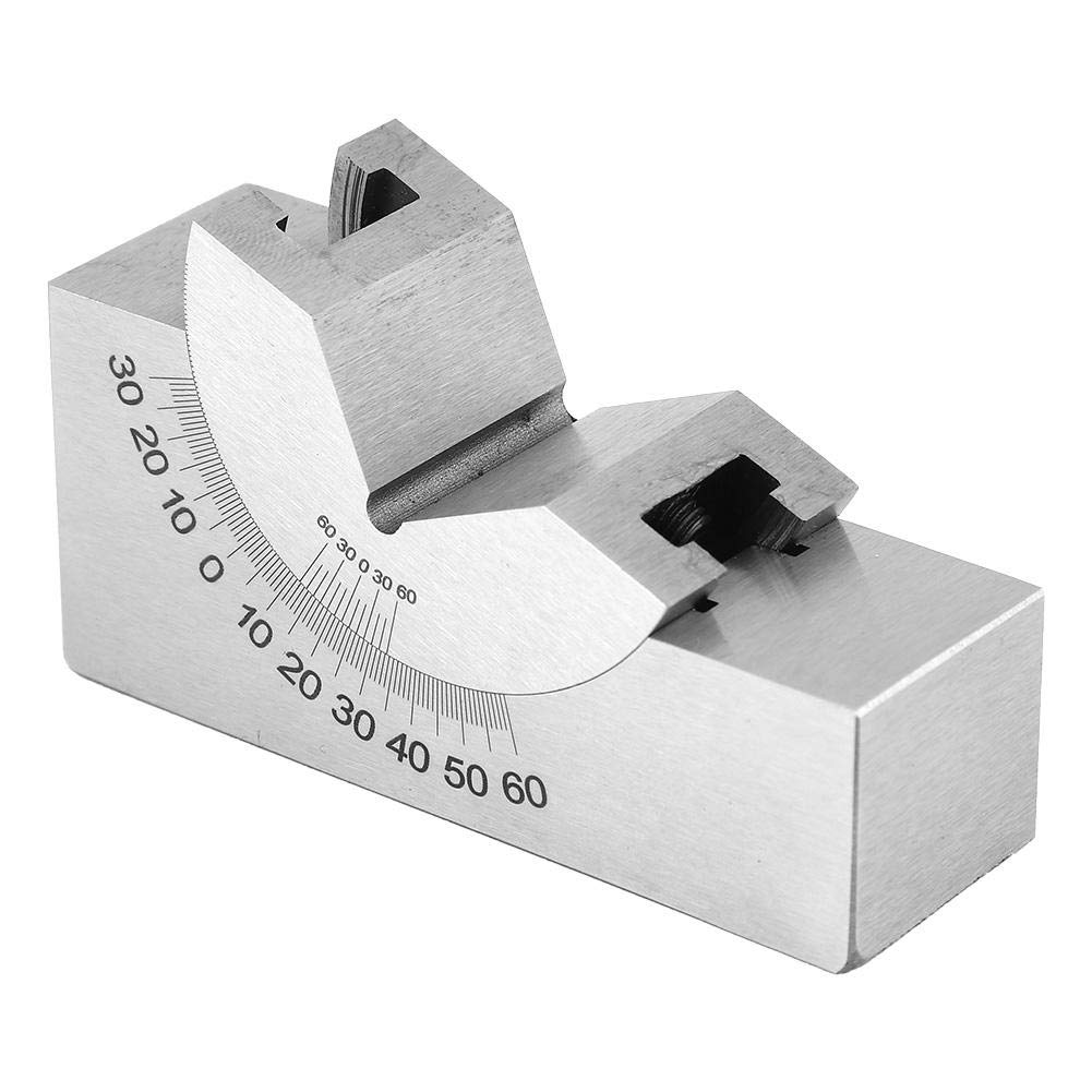 Stainless Steel Adjustable Angle Block Milling Machine Procusize Protractor Angle Block for Planes for Milling Machines