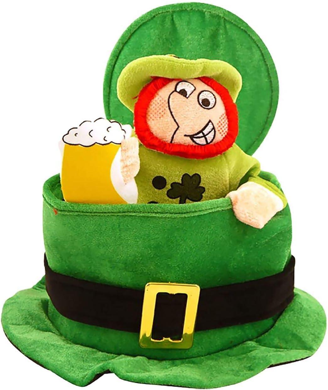 Sombrero para disfraz San Patricio Irlanda Eire en verde con ...