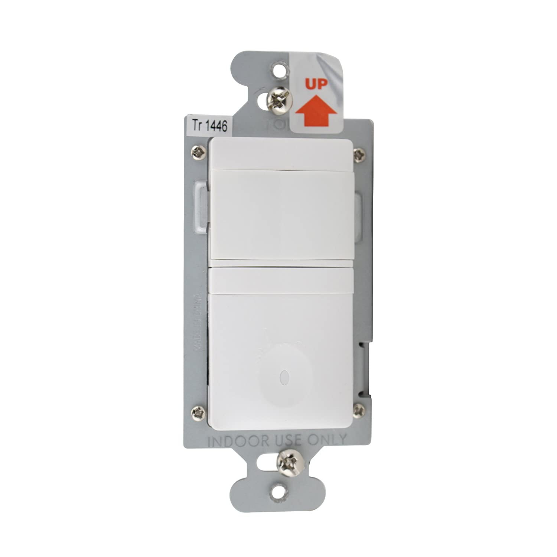 600W 120V PIR Multi-Way Wall Switch Vacancy Sensor WattStopper CH-250-W Motion Sensor White