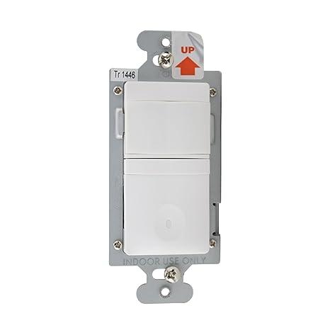 Amazon.com: wattstopper ch-250-w Sensor de movimiento, PIR ...
