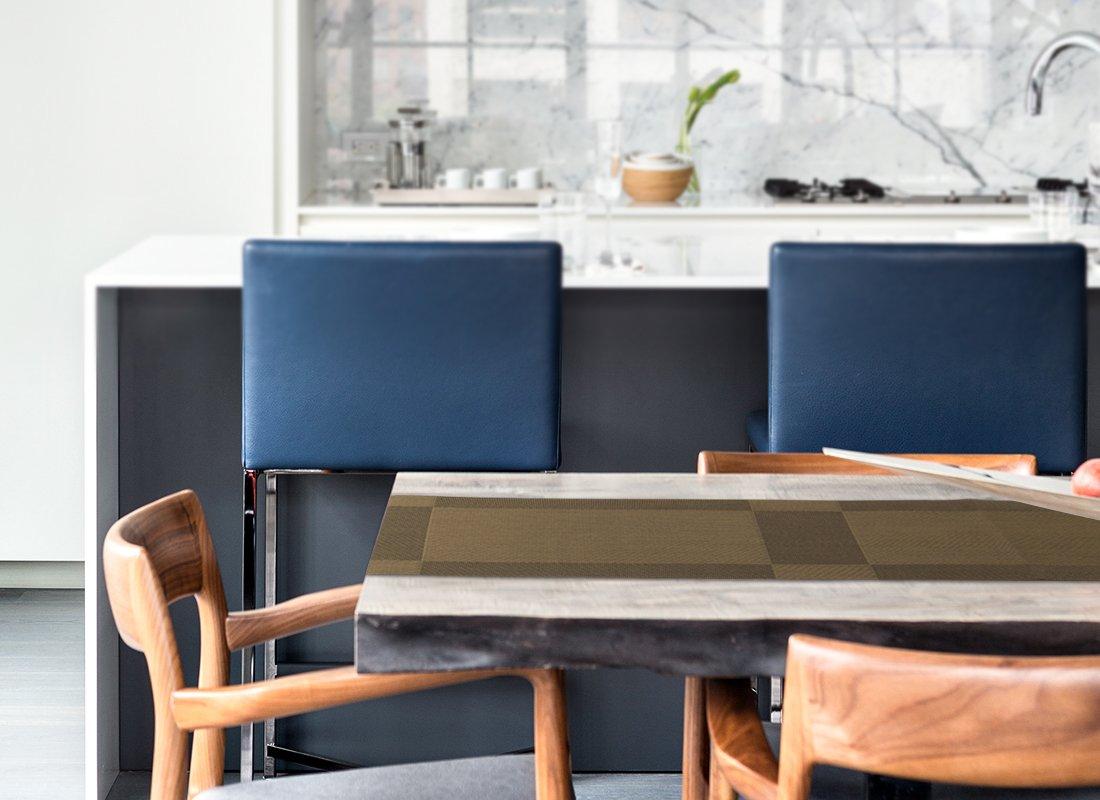 Brun Nuovoware Chemin de Table,30 x 180 cm R/ésistant aux Taches Tiss/é Exquis Haut de Gamme R/ésistant /à la Chaleur Antid/érapante Textil/ène D/écoration pour la Cuisine et Salle /à Manger