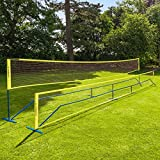 Vermont ProCourt Mini Tennis & Badminton Combi Net   10ft, 20ft & 30ft Available   Perfect For Kids Tennis   Family Backyard Sports   100% Portable & Weather-Resistant