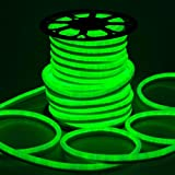 150ft 110V Flex LED Neon Rope Light Indoor Outdoor Holiday Valentine Party Decorative Lighting Green