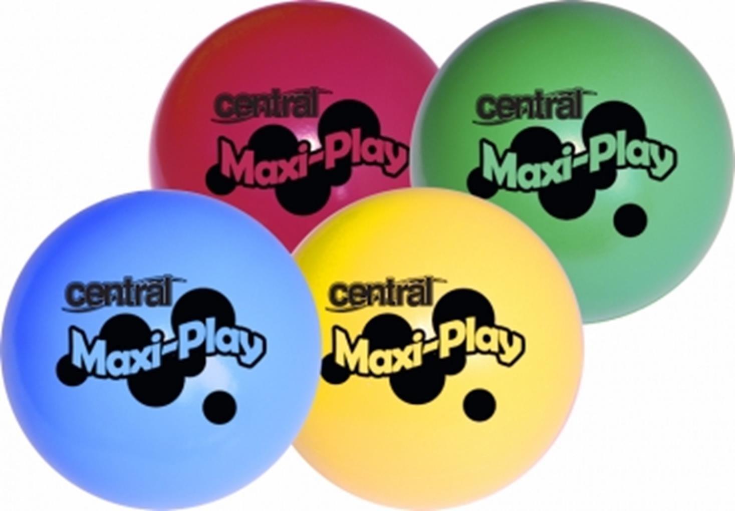 Central Fun Ball Maxi Team Farbe Play Spielball Pck von 24-6je Farbe