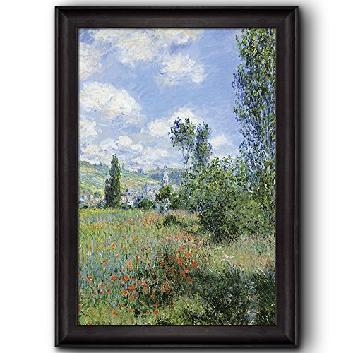 View of Vétheuil by Claude Monet Framed Art