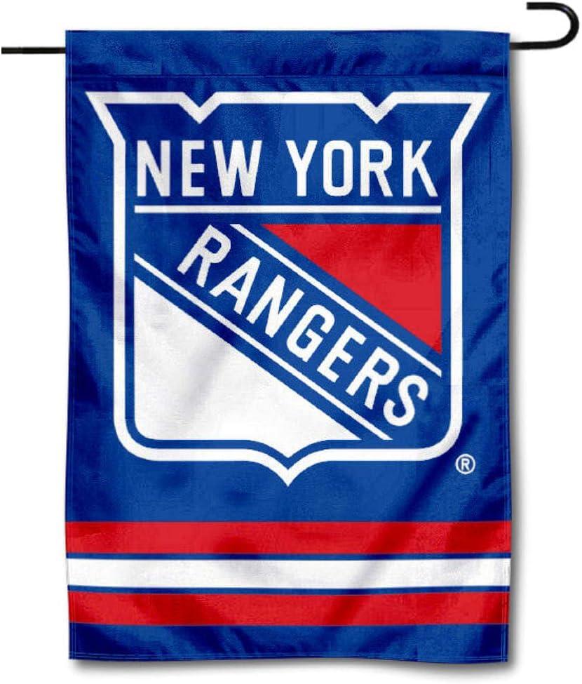 NY Rangers Hockey Flag Drawstring bag