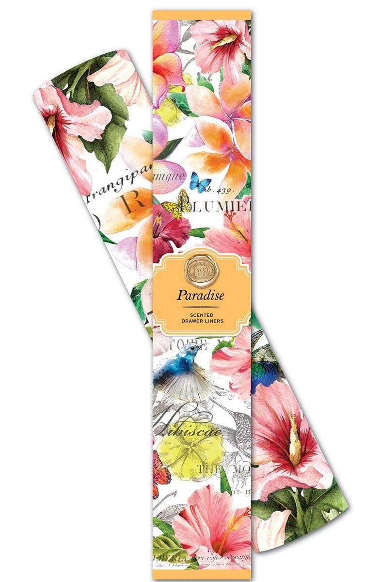D&M Michel Design Works Paradise Scented Drawer Liners by D&M (Image #1)