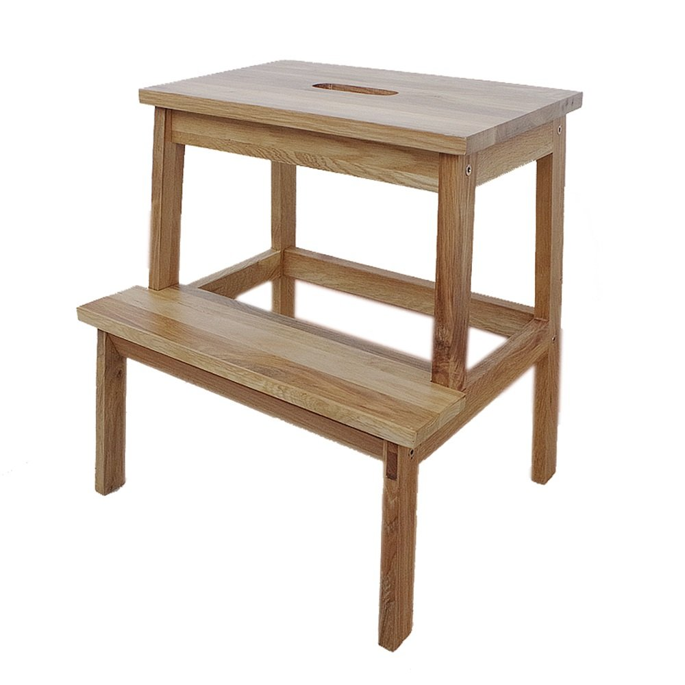 Table stool / Chinese classical staircase stool / multi-function, easy to move, durable