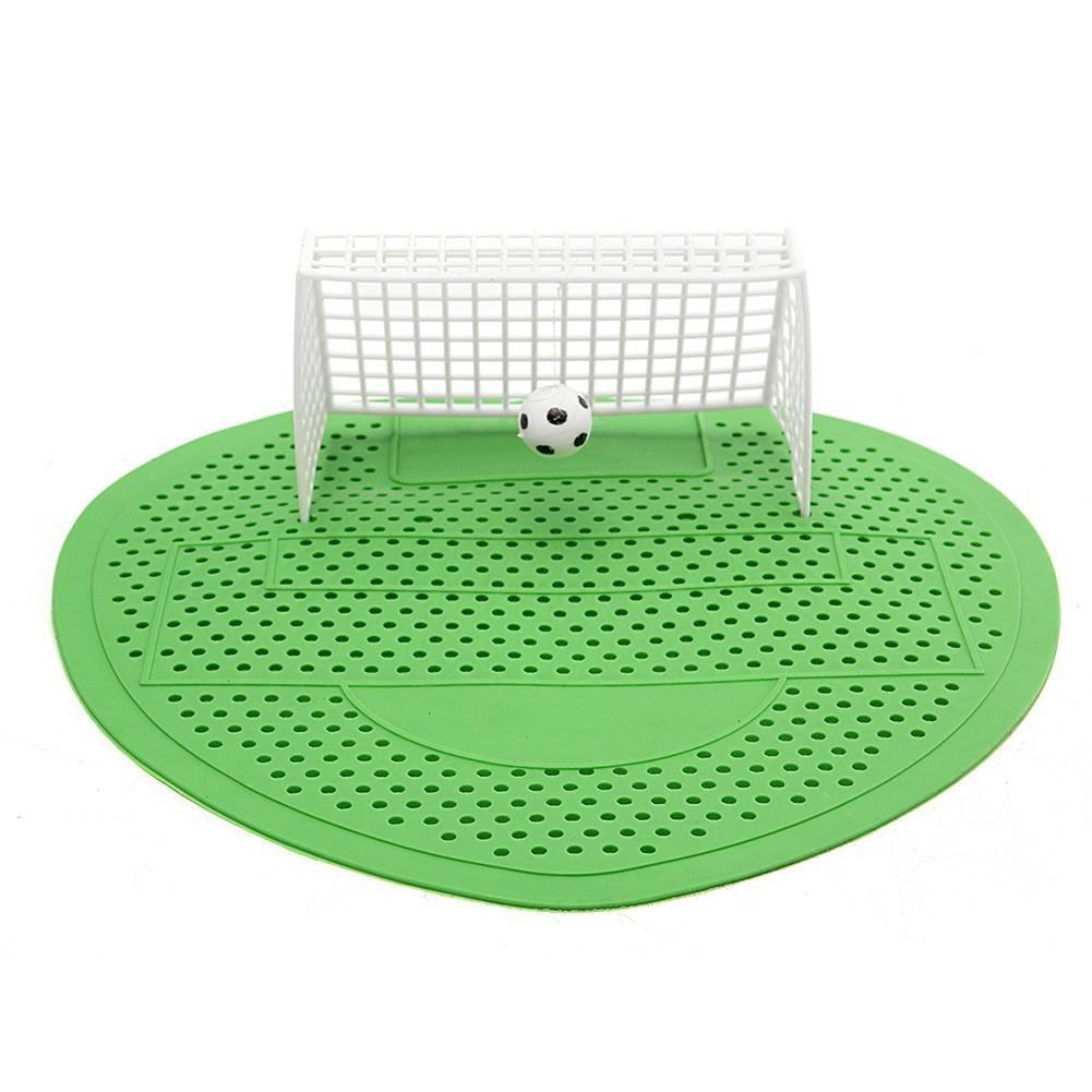 1 Pc Urinal Mat Football Soccer Shoot Goal Style For Hotel Home Club Deodorization Screen Filter Pink Rose Dream