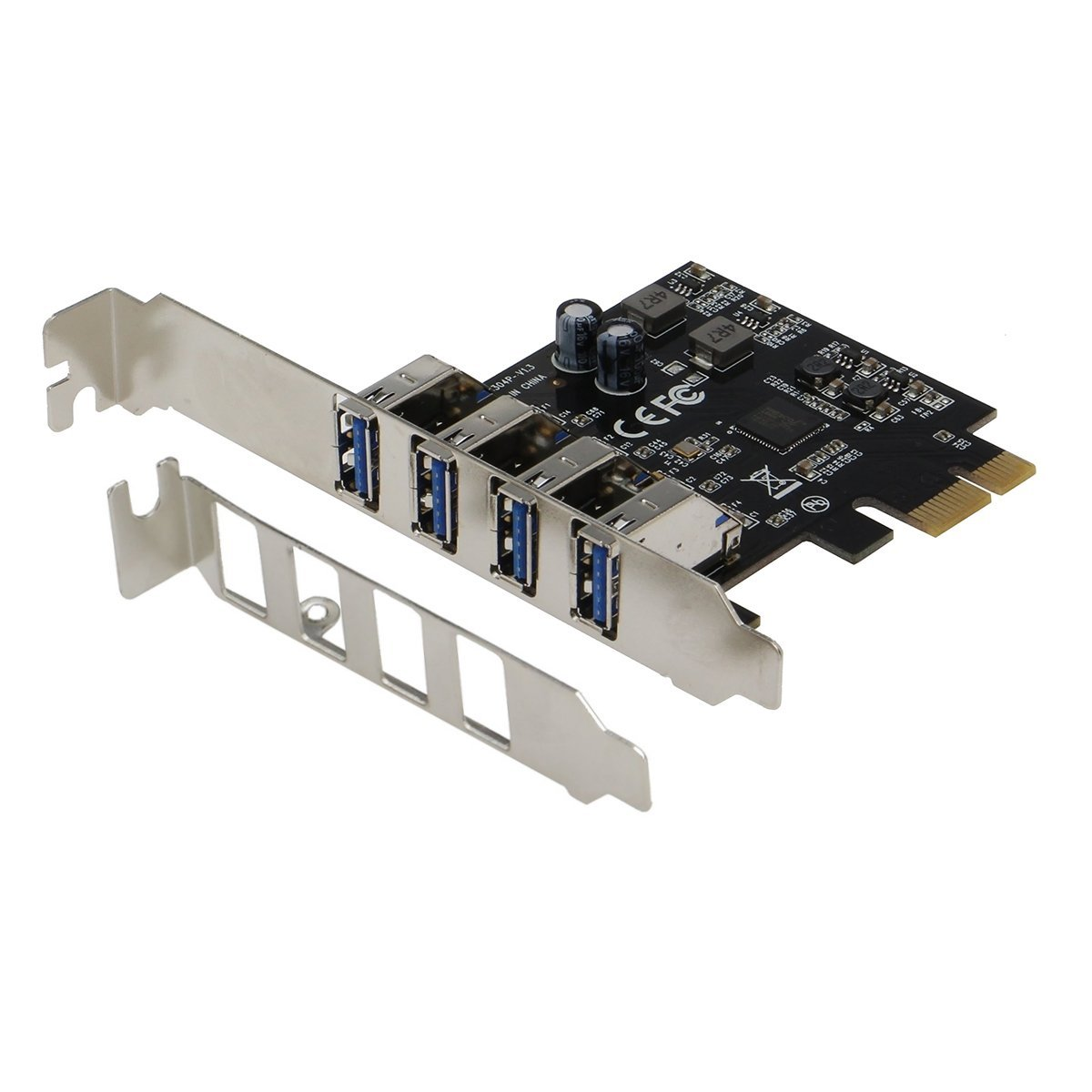 SEDNA - PCI Express USB 3.1 Gen I ( 5Gbps ) 4 Port Adapter w