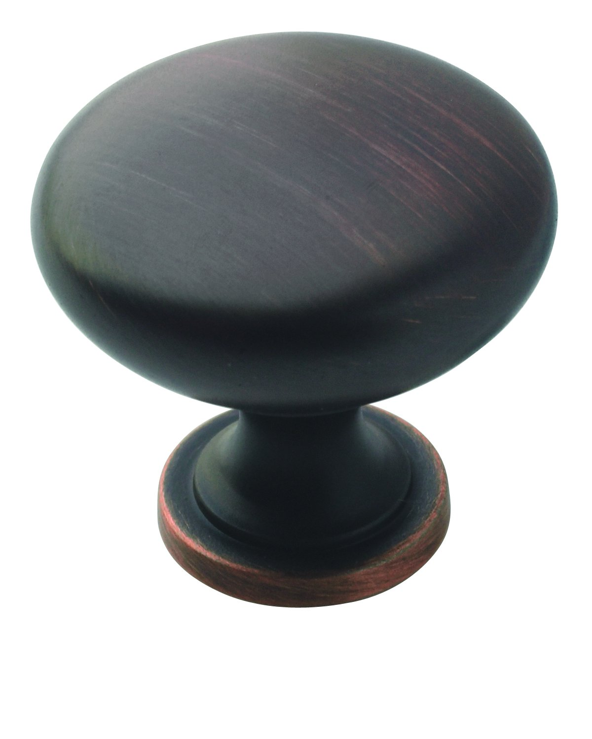 Allison Value 1-1/4 in (32 mm) Diameter Oil-Rubbed Bronze Cabinet Knob - 10 Pack - 10BX53005ORB
