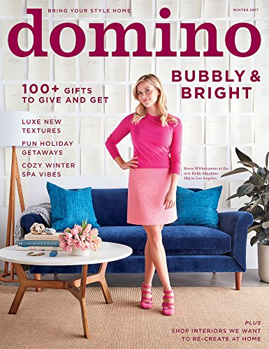 Domino Magazine - Winter 2017 _ Bubbly and Bright - Vogue Trends Latest