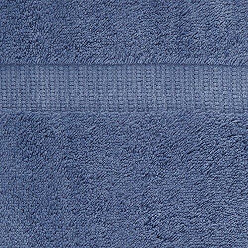 Pinzon Organic Cotton Bath Towel, Set of 4, Indigo Blue
