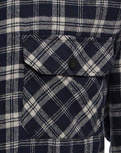 Flanelle Bucheron Chemise Brossé Matière Manches Travail Clothing À Tb De Coton Homme Tissée Motif Longues Carreaux Et Pour 3 En wIfqqO