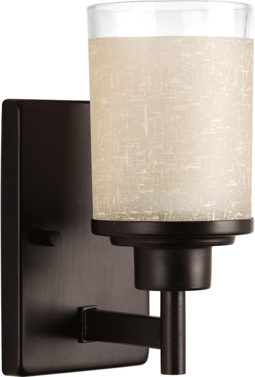 Progress Lighting P2008-09 Adorn Collection 1-Light Vanity Fixture Progress Lighting Brushed Nickel HI