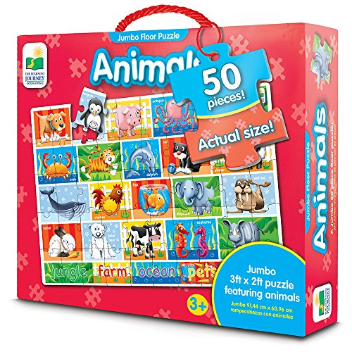The Learning Journey Jumbo Floor Puzzles, Animals