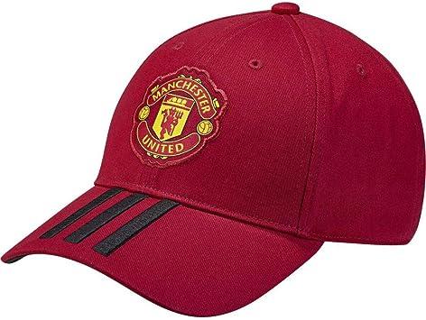 adidas Manchester United 3-Stripes Gorra Algodón - Gorros, Gorras ...