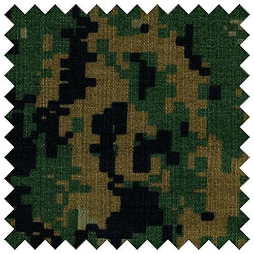 Cotton Ripstop Sherwood Stalker Digital Camouflage Fabric By The Yard