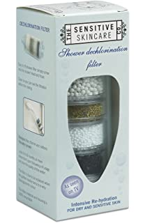 clear tinted shower filter removes 999 chlorine and softens your shower water perfect