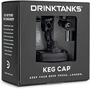 DrinkTanks Beer Growler Keg Cap Accessory Kit